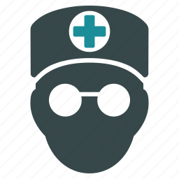 doctor, head, help, hospital, medical, person, user icon