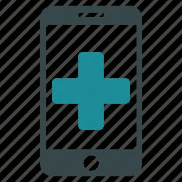 drugstore, medicine, mobile, online, phone, service, telephone icon
