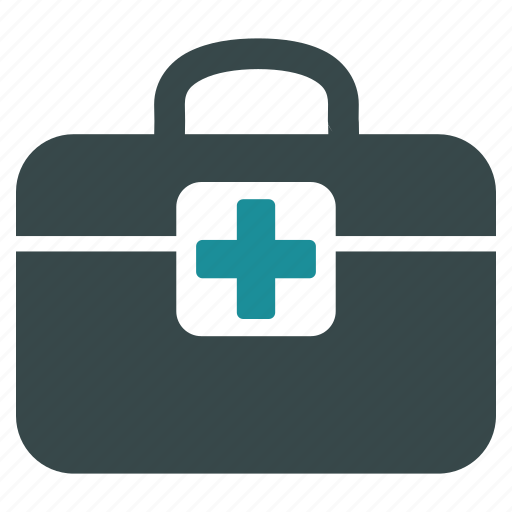 bag, baggage, case, first aid, med kit, medicine, medkit icon