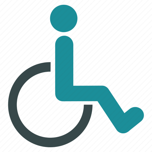 chair, damaged, disable, disabled, handicap, patient, wheelchair icon