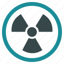 atom, attention, danger, explosion, nuclear, radiation, radioactive icon
