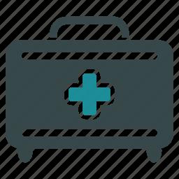 ambulance, box 911, doctor bag, emergency, first aid, medical help, medicine icon