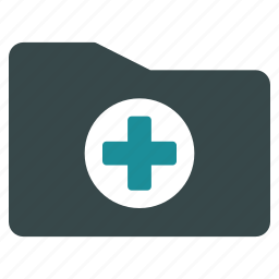 archive, directory, folder, healthcare, medical, medicine, storage icon