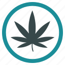 cannabis, ganja, hemp, marihuana, marijuana, pot, weed icon