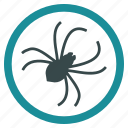 biology, illness, insect, parasite, parasitic, pest, spider icon