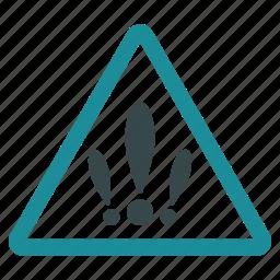 alarm, alert, danger, error, exclamation, problems, warning icon