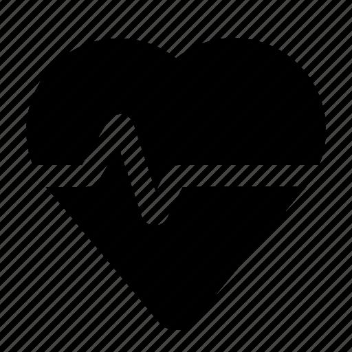 cardiogram, heart, hospital, medecine, medical, rate, surgery icon