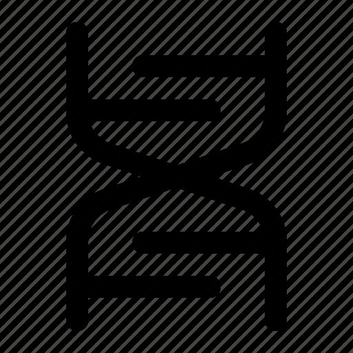 chromosome, dna, genetic, helis, medical, molecule, sciene icon