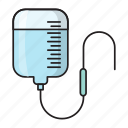 bottle, drip, healthcare, infusion, iv icon