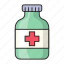 bottle, injection, medical, opioids, pharmacy