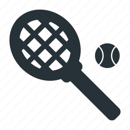 ball, racket, sports, tennis icon