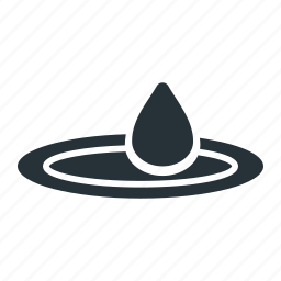 drop, nature, relax, water icon