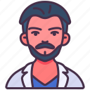 avatar, doctor, male, man, medical, nurse, person icon
