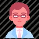 avatar, doctor, glasses, male, man, medical, professor