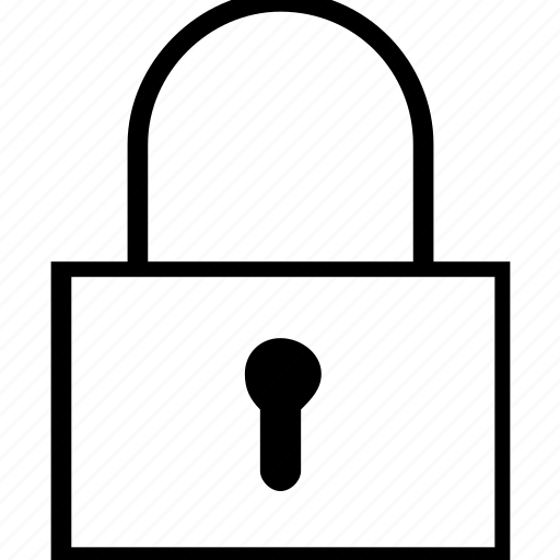 lock, secure, security icon