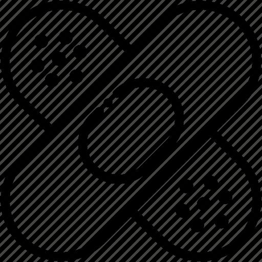 Aid, band, bandage, injury, medical icon - Download on Iconfinder