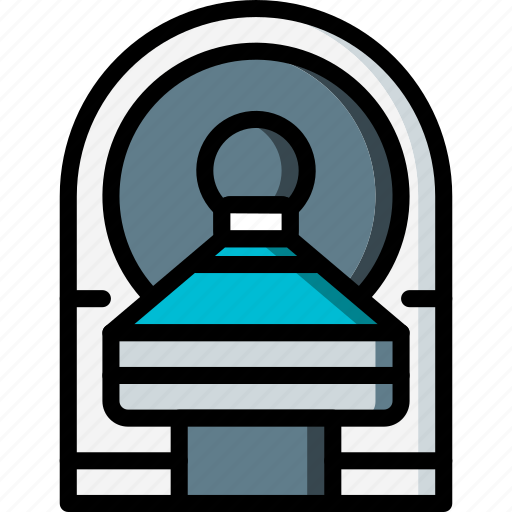 care, equipment, health, medical, mri, patient, surgical icon