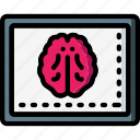 brain, health, hospital, medical, monitor, patient, surgical icon