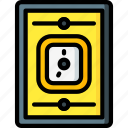 air, equipment, hospital, medical, outlet, patient, tool icon