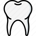 clean, dentist, hygiene, medical, tooth icon