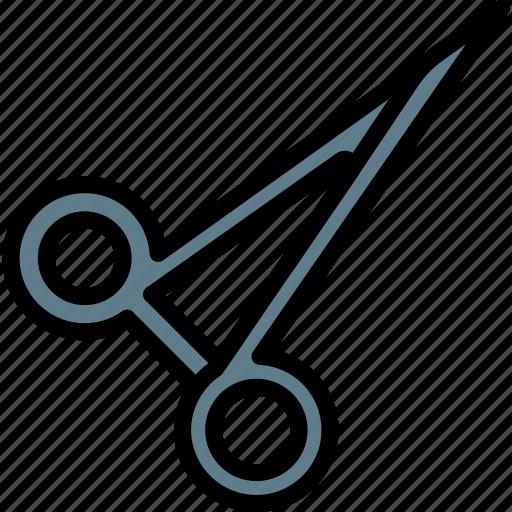 care, equipment, health, medical, scissors, surgical, tool icon