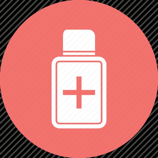 bottle, liquid, medication, medicine icon