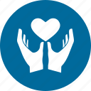 dil, healthcare, heart icon