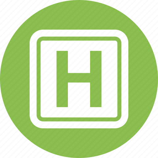hospital, location, map, pin icon