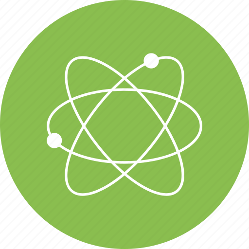 Atom, physics, process, science icon - Download on Iconfinder