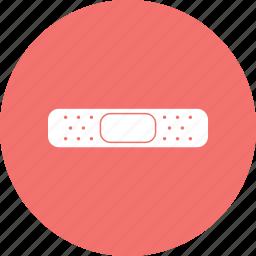 bandage, patch, plaster, platter icon
