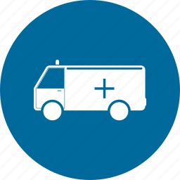 ambulance, emergency, medical icon