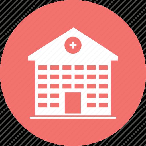 building, health, hospital, house, medical icon