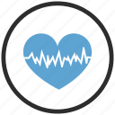 heart, hurt, pulse, rate icon