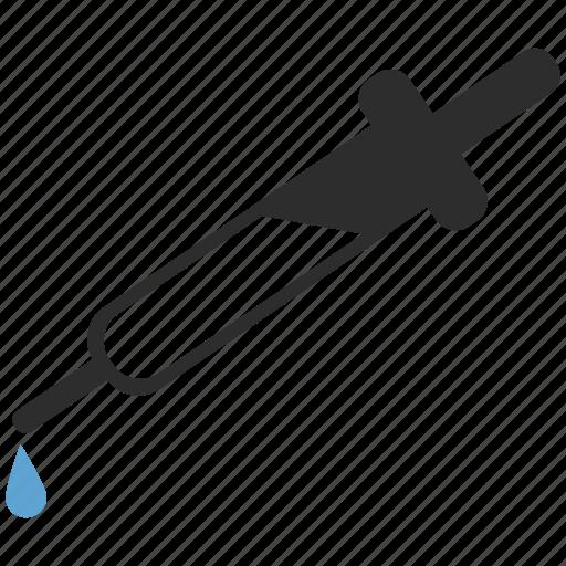 dropper, science icon