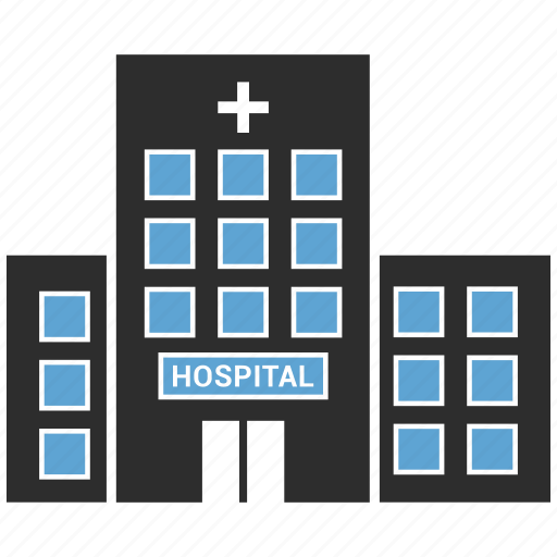 building, hospital, hospital building, medical center icon