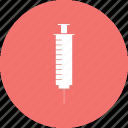 flu, health, medical, needle, squirt, syringe icon