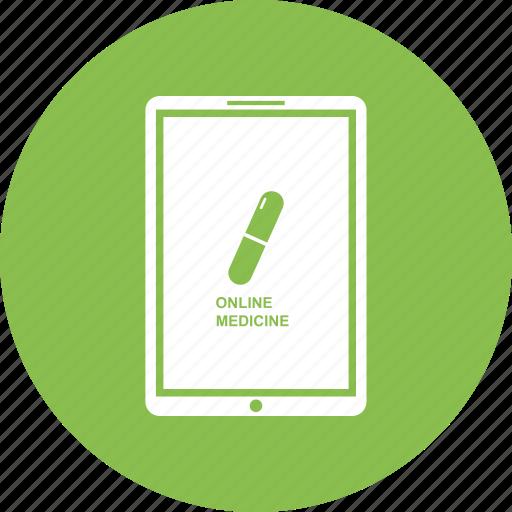 care, hospital, laptop, medical, medicine, notebook, online icon