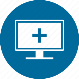 display, medical, monitor, multimedia, screen icon