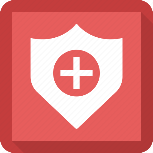 healthcare, medical, shield icon