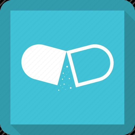 medicine, pill icon