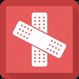 band aid, bandage, treatment icon