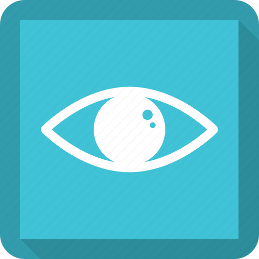 eye, eyeball, eyes, view icon