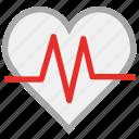 heart, heartbeat, pulse, human heart