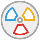 biohazard, danger, death, toxic, warning icon
