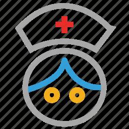care, healthcare, hospital, medical, nurse icon
