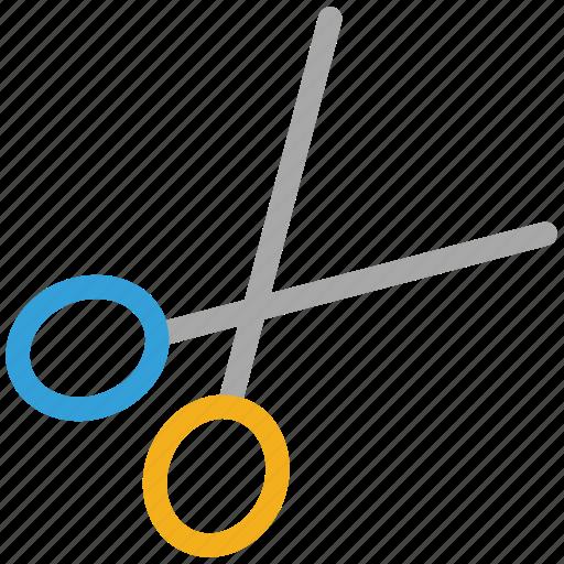 cut, cutting tool, edit, scissor icon