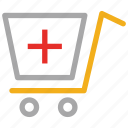 medical, medicine supply, medicines cart, pharmacy icon