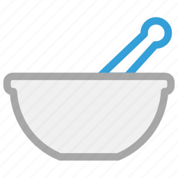 mortar, pestle, pharmacist, pharmacy, tool icon