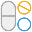 capsule, chemist, drug, medication, medicines, pharmacy, prescription icon