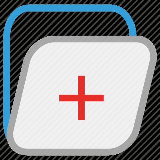 healthcare, medical data, medical file, medical folder icon
